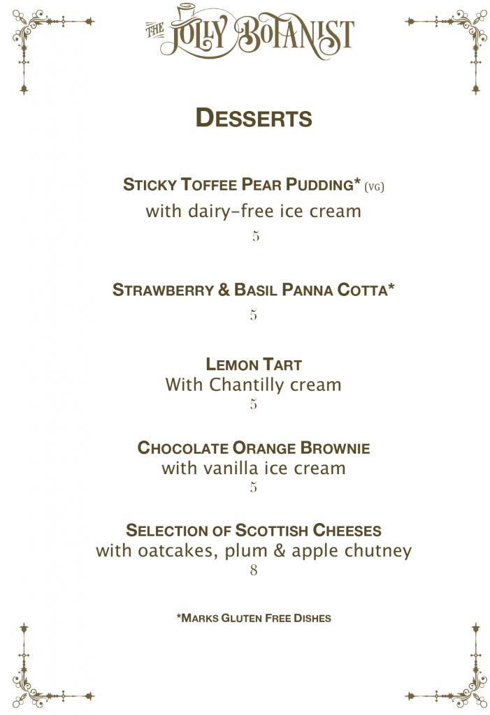Desserts 2019 new